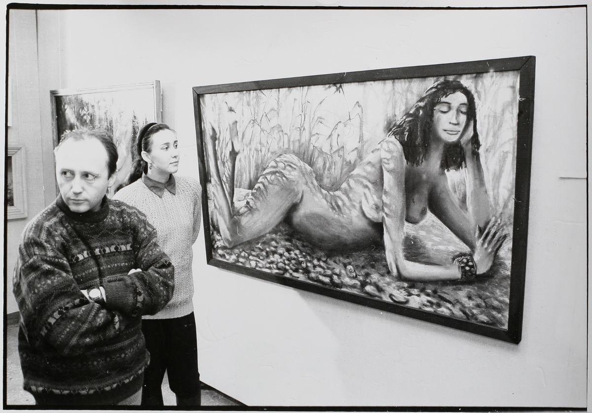 На выставке «Большое Ню»