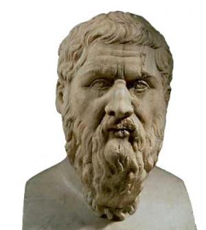 Платон. Мраморный бюст